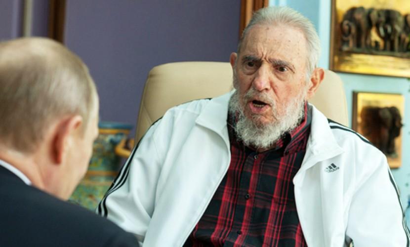 Путин отказался ехать на похороны Кастро