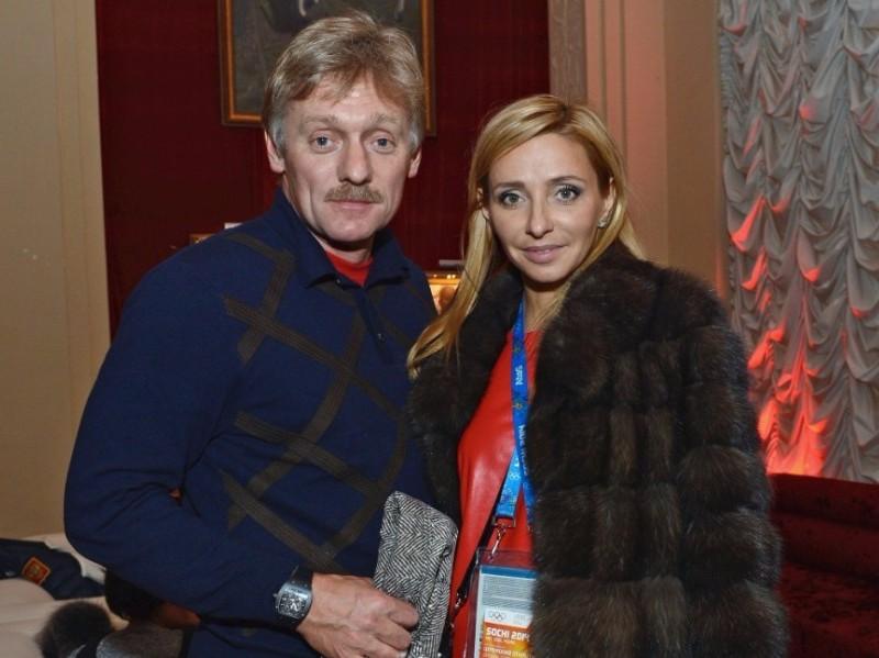 Песков в ответ на критику мировых СМИ в адрес Навки заявил о гордости за свою жену