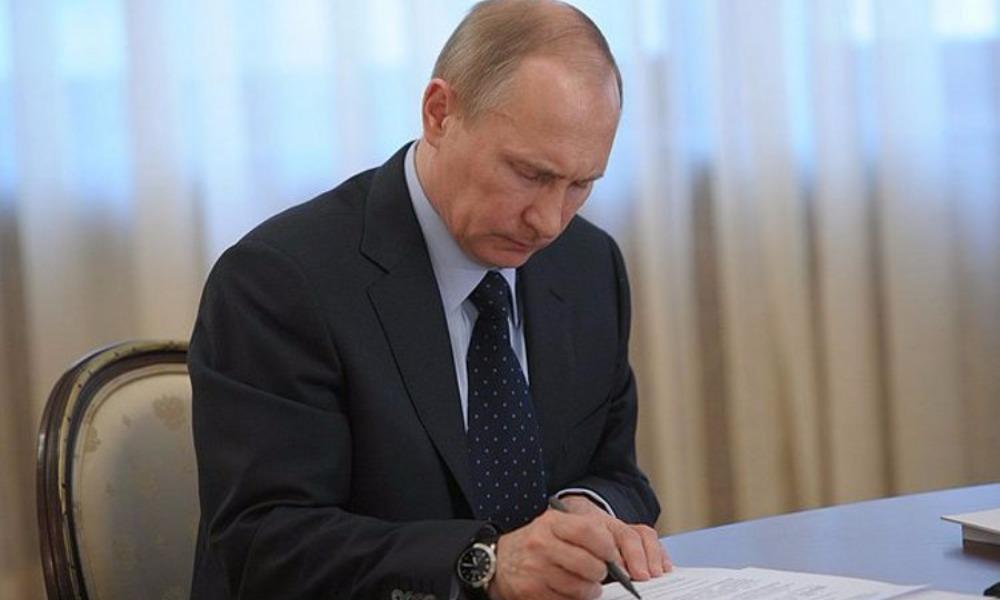 Песков поведал о содержании написанного Путиным