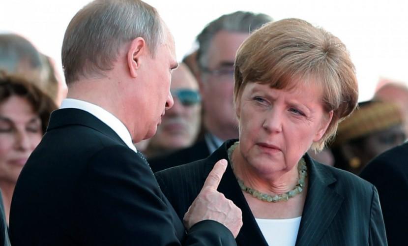 Путин предупредил Меркель о возможном воровстве Украиной газа для Европы