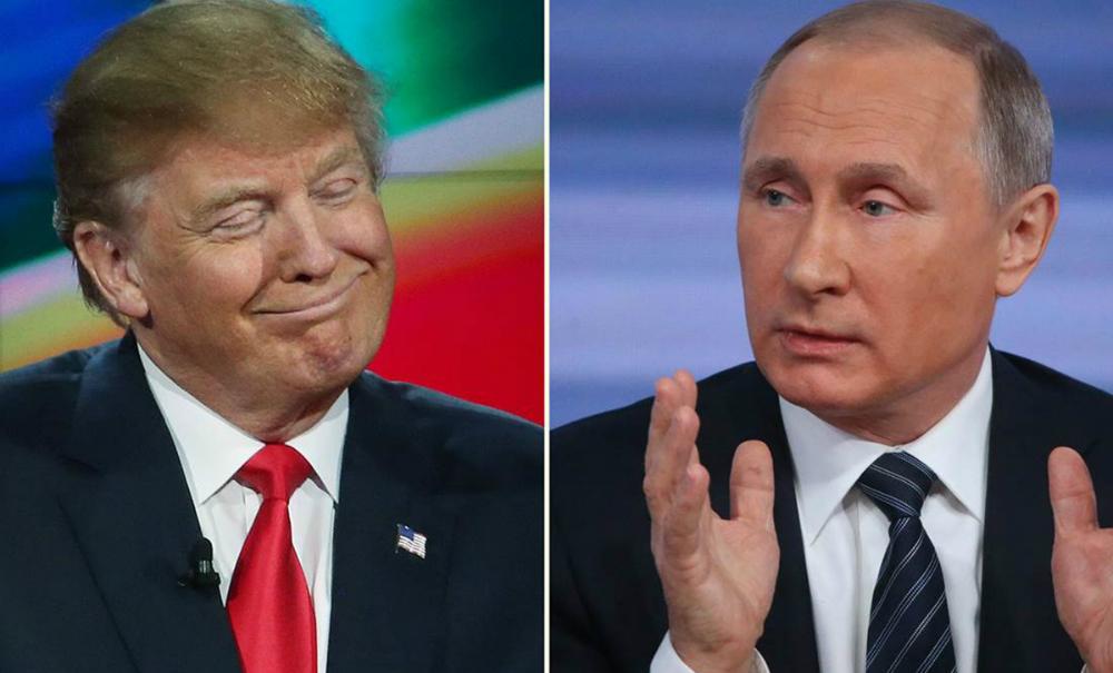 Путин в поздравлении Трампу с победой заявил о диалоге Москвы и Вашингтона