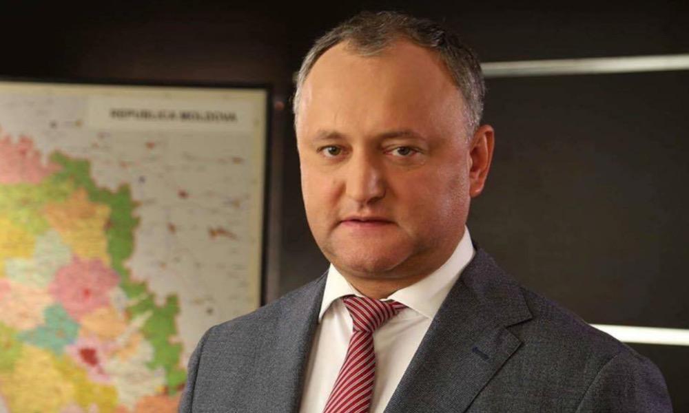 Додон назвал две главные темы встречи с Путиным в Москве