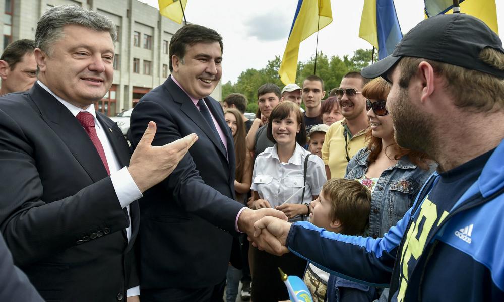 Саакашвили обиделся на Порошенко и отказался с ним встречаться