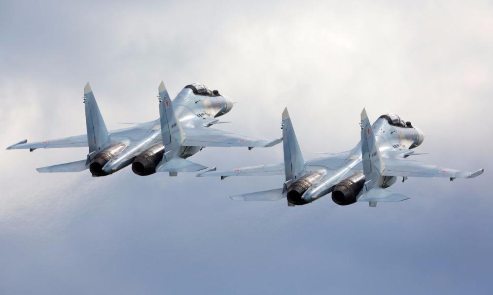 В состав Морской авиации ВМФ поступила новая партия многоцелевых истребителей Су-30СМ