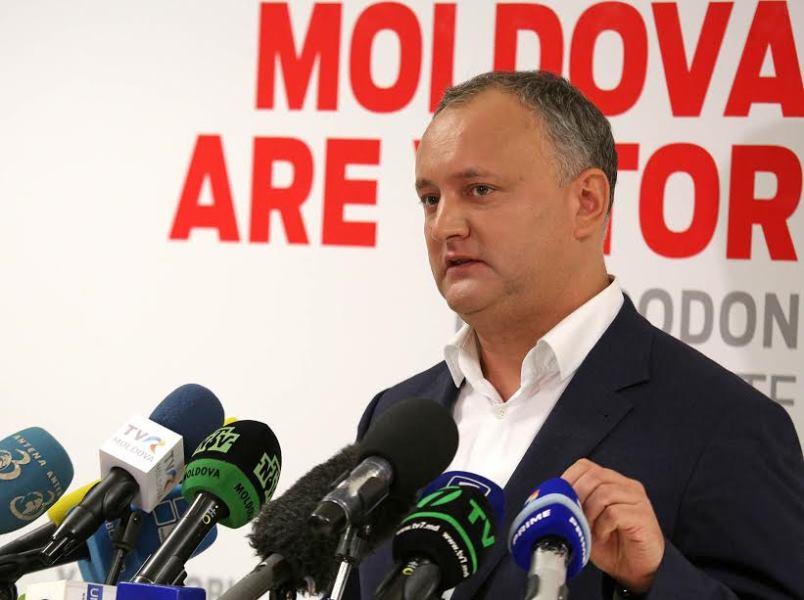 Выборы президента Молдавии выиграл пророссийский кандидат