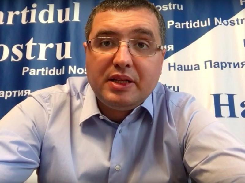 Ренато Усатый записал видеообращение к жителям Молдавии в поддержку Игоря Додона