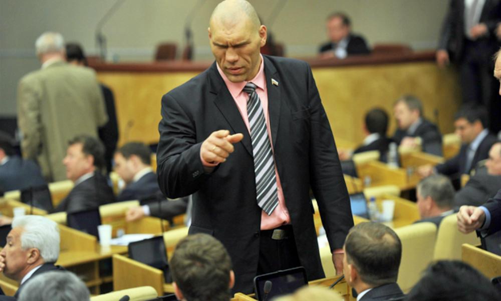 Спикер Госдумы предложил проводить «физкультминутки» под руководством Валуева во время длительных заседаний