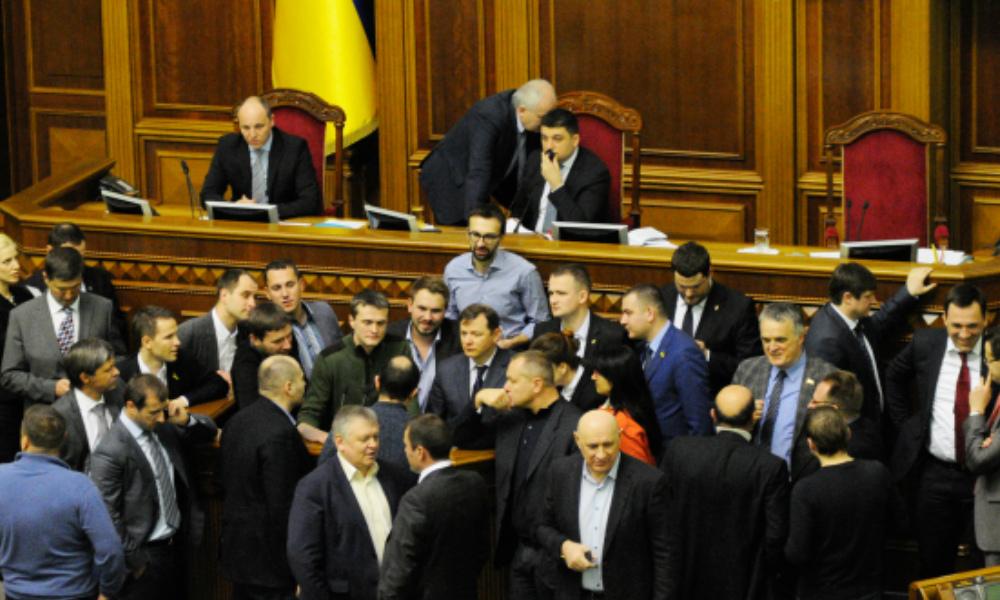 В Верховную раду внесли постановление о выходе Украины из СНГ