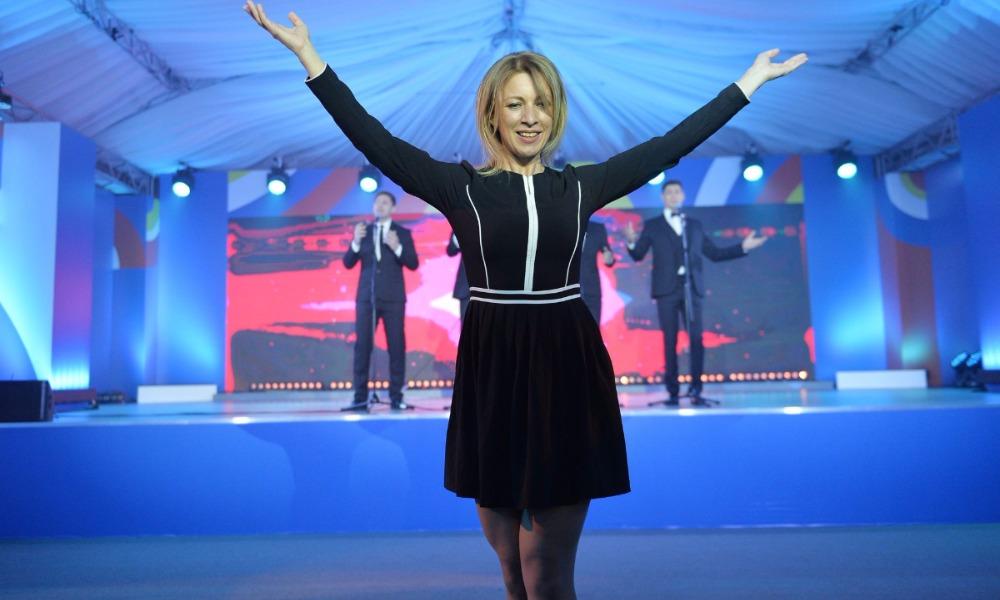Компания BBC впечатлилась Захаровой и включила ее в список
