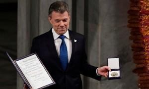 В Осло вручена Нобелевская премия мира за 2016 год