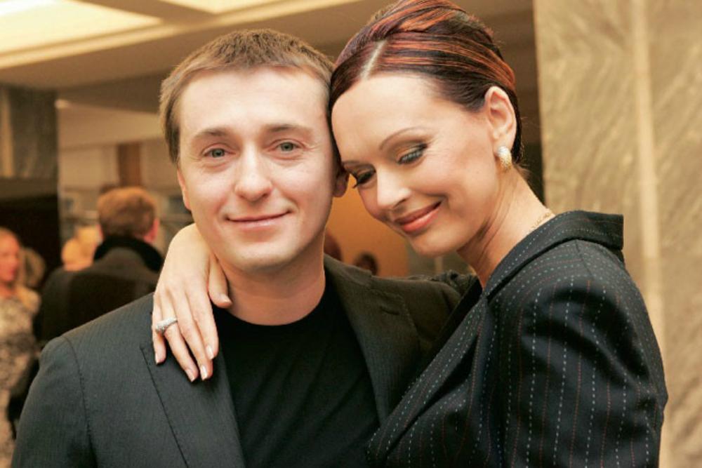 С первой женой Ириной Безруковой