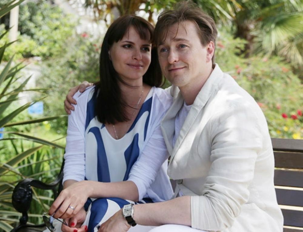 Сергей с нынешней женой Анной Матисон