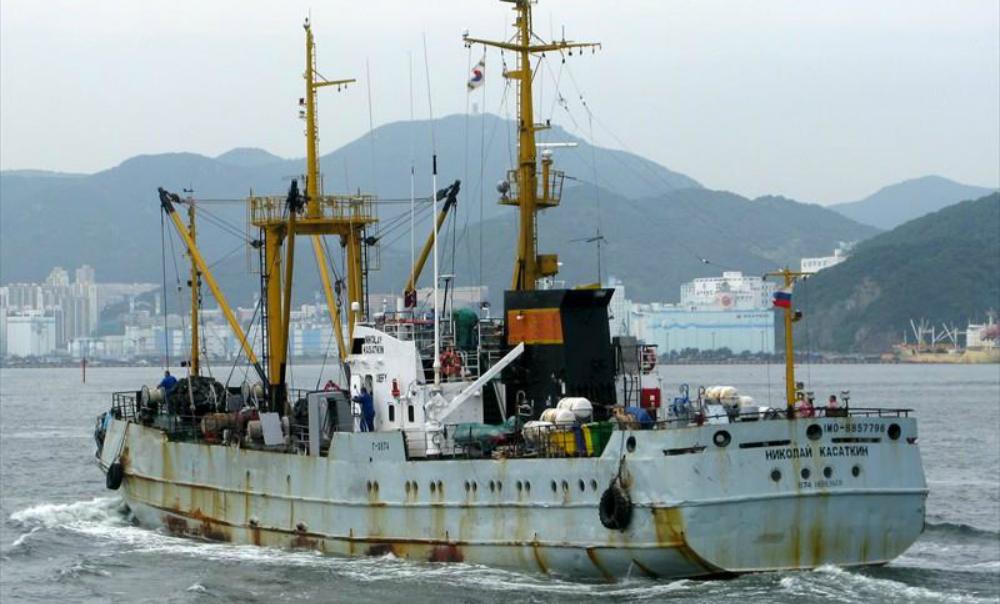 Российские моряки устроили забастовку в порту Амстердама из-за долгов по зарплате