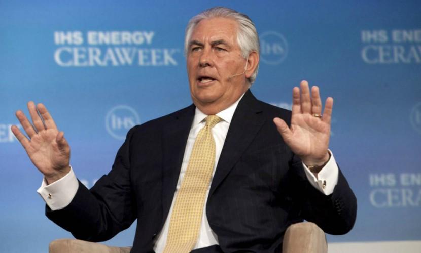 Выдвинутый вгоссекретари Тиллерсон подал вотставку споста руководителя ExxonMobil