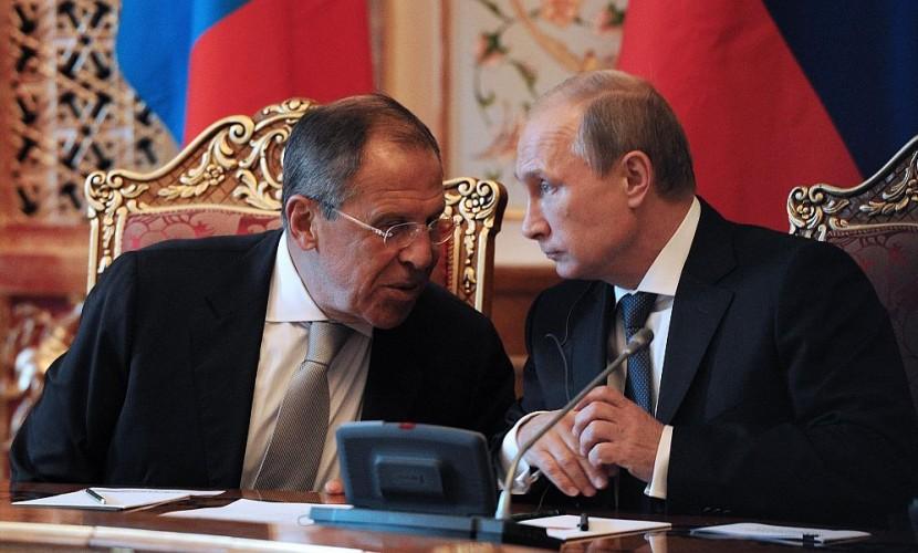 Лавров предложил Путину ответить на санкции США высылкой из России 35 дипломатов