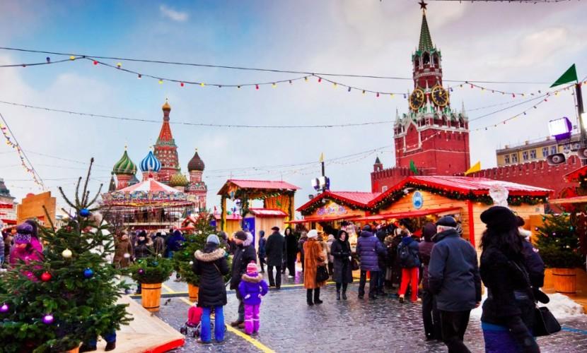 Крупные развязки перед местами новогодних гуляний в Москве решили защищать
