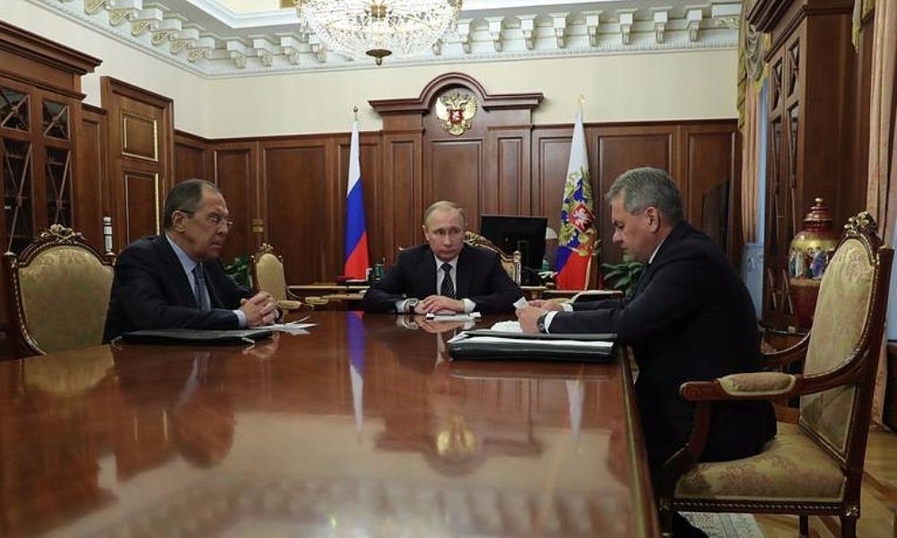 Путин согласился с предложением Шойгу пойти на сокращение военного присутствия России в Сирии