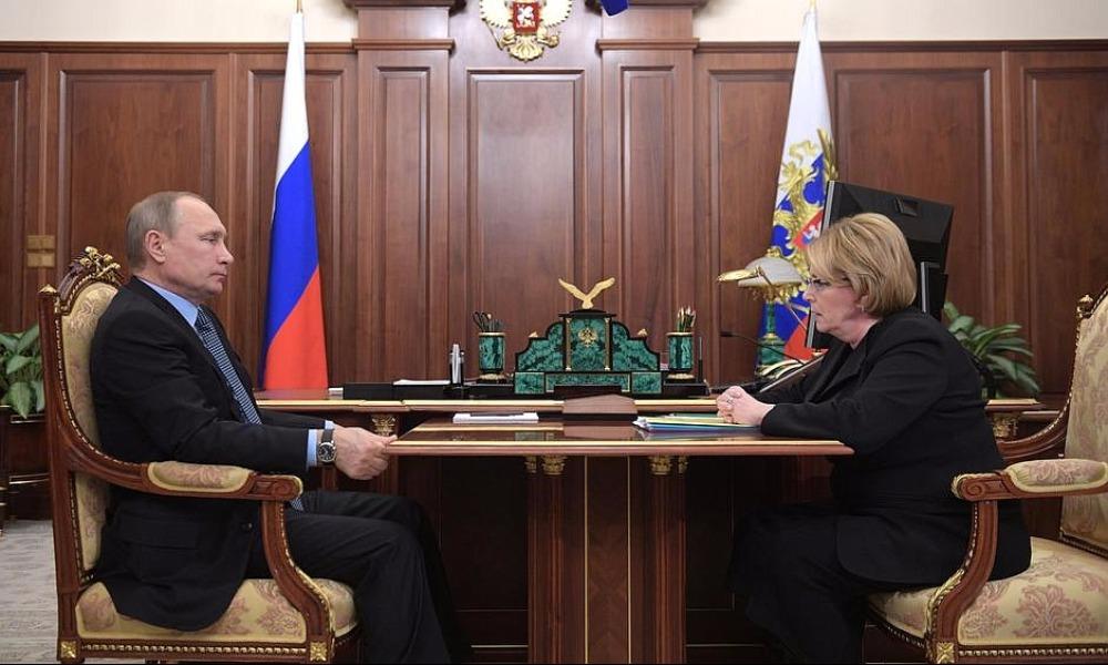 Скворцова пообещала Путину за два года подключить к Интернету все больницы страны