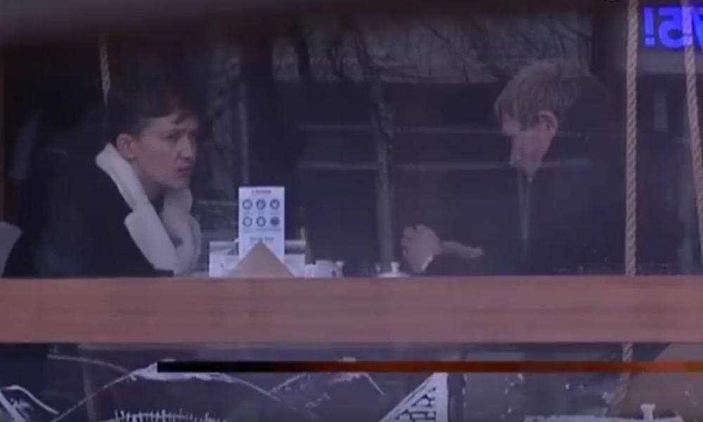 Опубликовано видео розыгрыша Савченко выдавшими себя за ополченцев ДНР украинскими журналистами