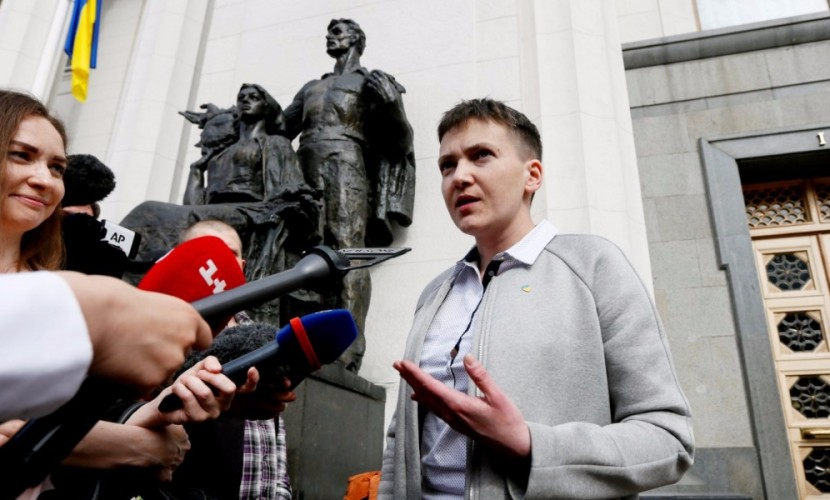 Встречавшуюся в Минске с лидерами ДНР и ЛНР Савченко допросили в Службе безопасности Украины