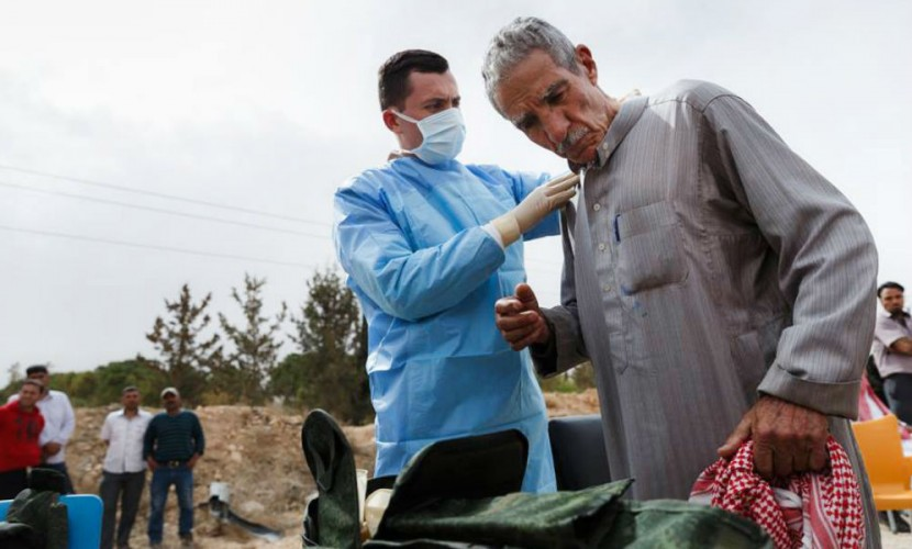 Госпиталь МЧС РФ помог неменее 1,1 тысячи сирийцев