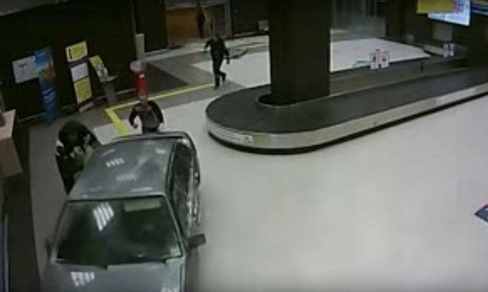 GTA по-татарски: попавший на видео гонщик по зданию аэропорта в Казани получил 15 суток ареста