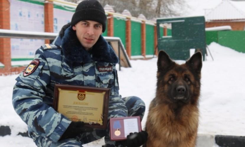 Лучший полицейский-кинолог России из Тюмени за сутки раскрыл вместе с собакой три преступления
