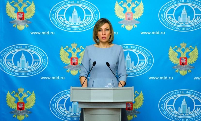 Захарова порекомендовала руководству Regnum подать всуд насамих себя