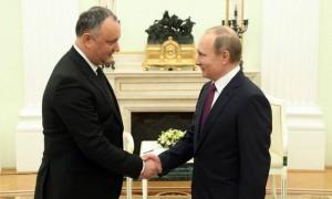 Путин рассказал Додону о своих ожиданиях от встречи в Москве