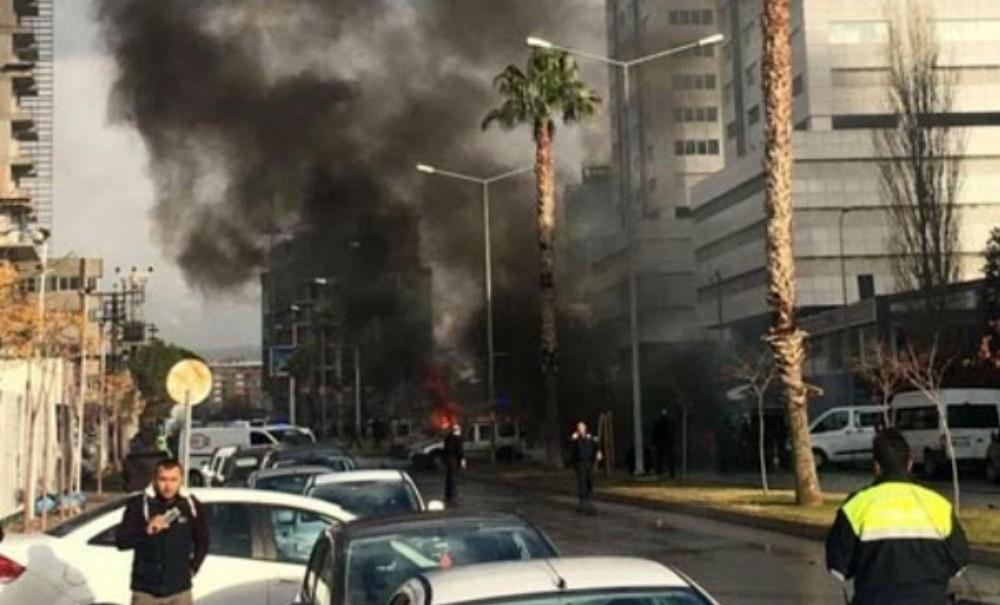Опубликовано видео взрыва в турецком Измире