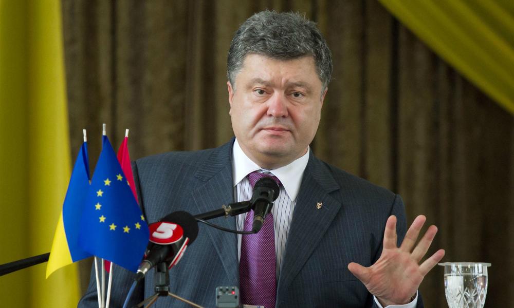 Порошенко выделил для Донбасса отдельную военно-воздушную зону