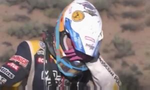 Французский гонщик помог упавшей с мотоцикла россиянке на ралли «Дакар»