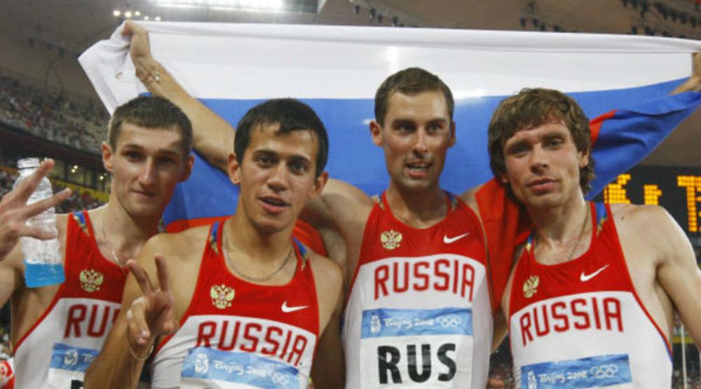 Российские бегуны на Олимпиаде в Пекине