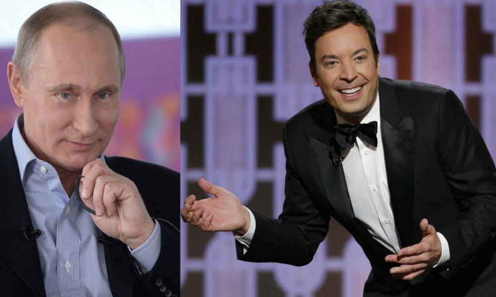 Известный американский ведущий пошутил над Путиным в прямом эфире