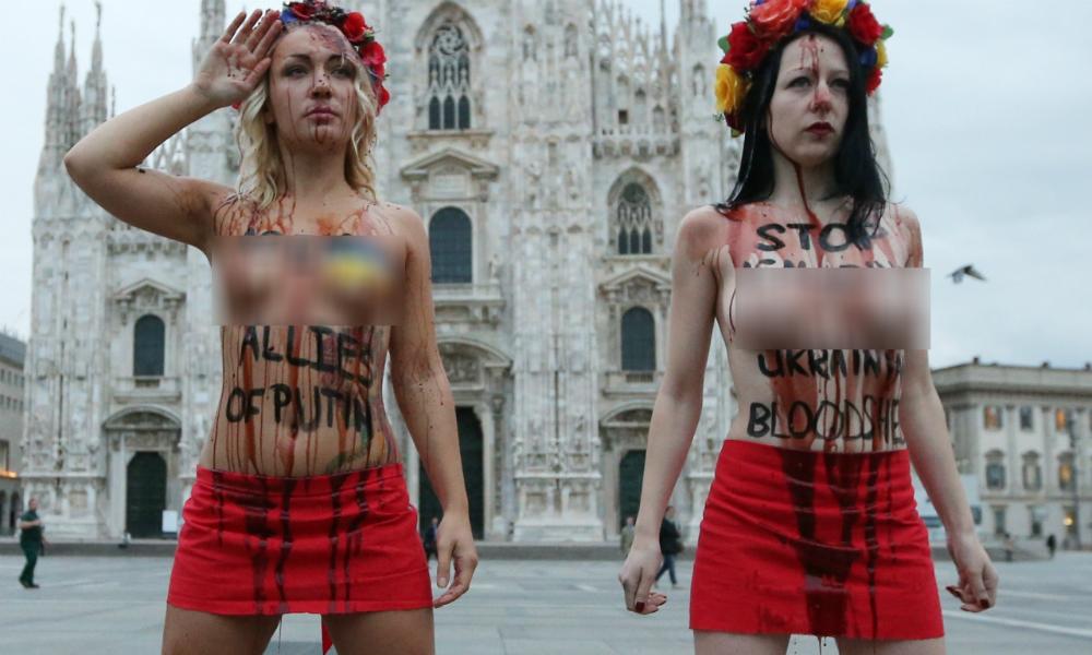 Скандалистки из Femen перессорились и расформировались
