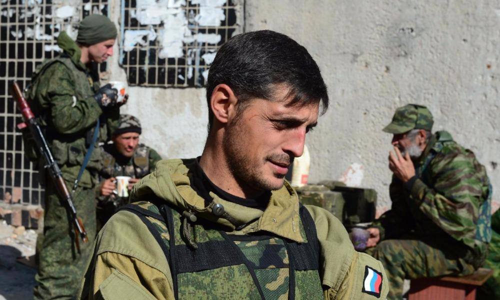 Лидер донецких ополченцев Гиви получил ранение в боях с украинскими силовиками под Авдеевкой