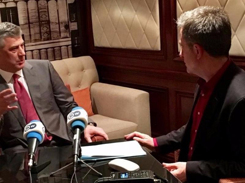Президент Республики Косово «увидел» в Сербии вооруженных российских военных без формы
