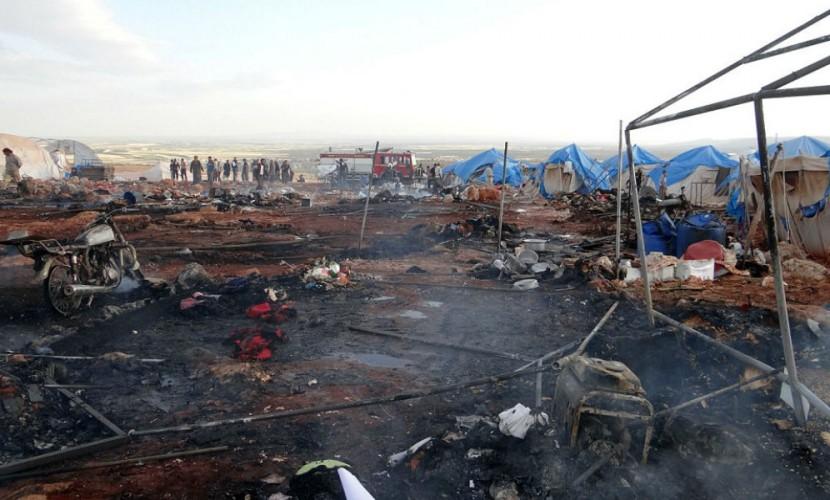 Американские ВВС уничтожили деревню в Сирии в зоне перемирия