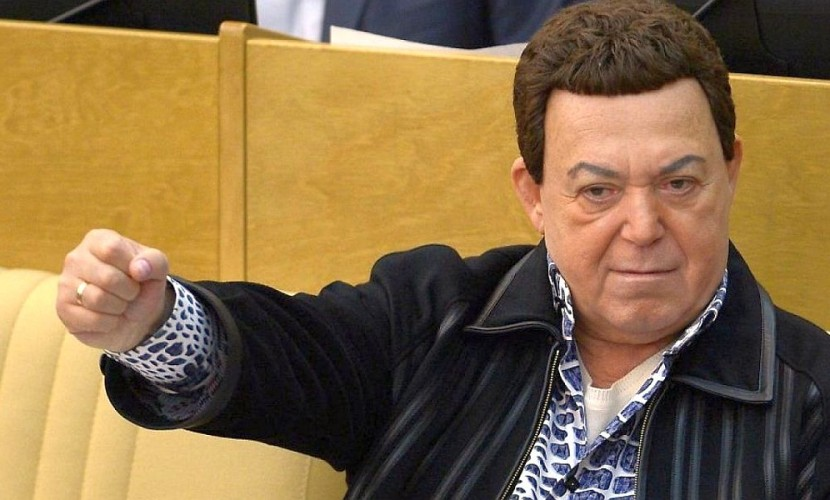 Кобзон выступил против отправления Панайотова на