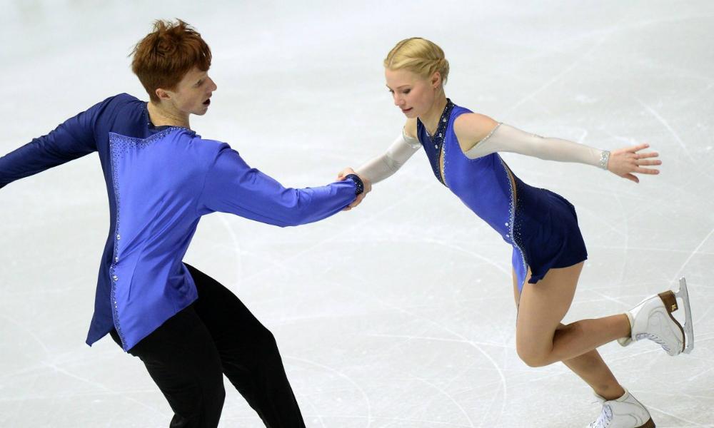 Российские фигуристы Тарасова и Морозов завоевали «золото» чемпионата Европы