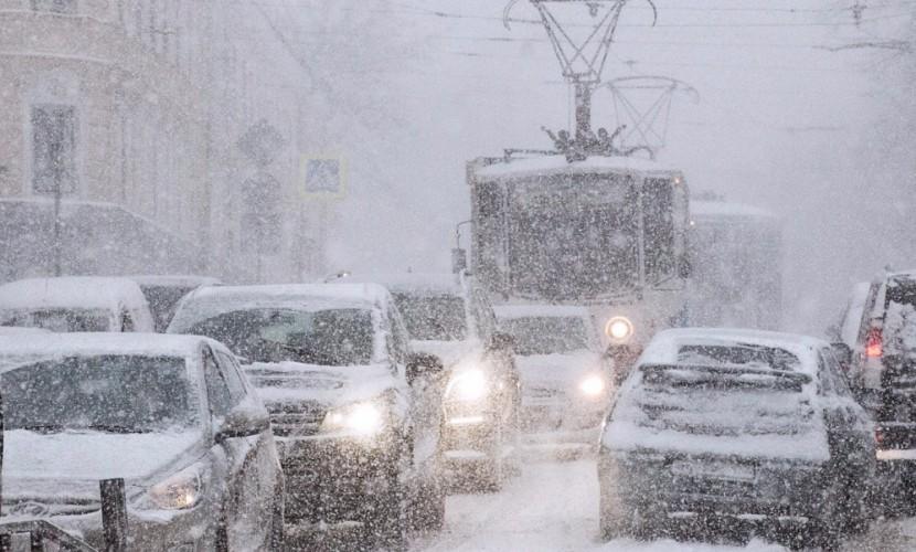 Затяжной снегопад ожидается в столицеРФ