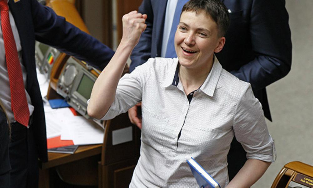 Савченко предложила украинским властям отказаться от Крыма ради Донбасса