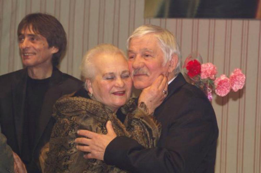 Михай Волонтир с супругой