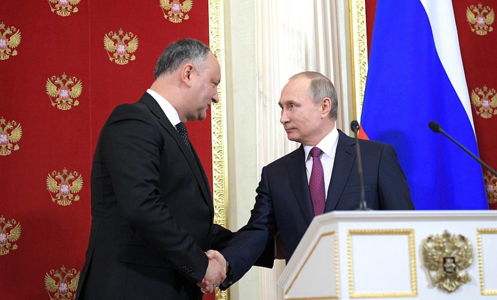 Додон заявил о намерении Молдавии сотрудничать с ЕврАзЭС