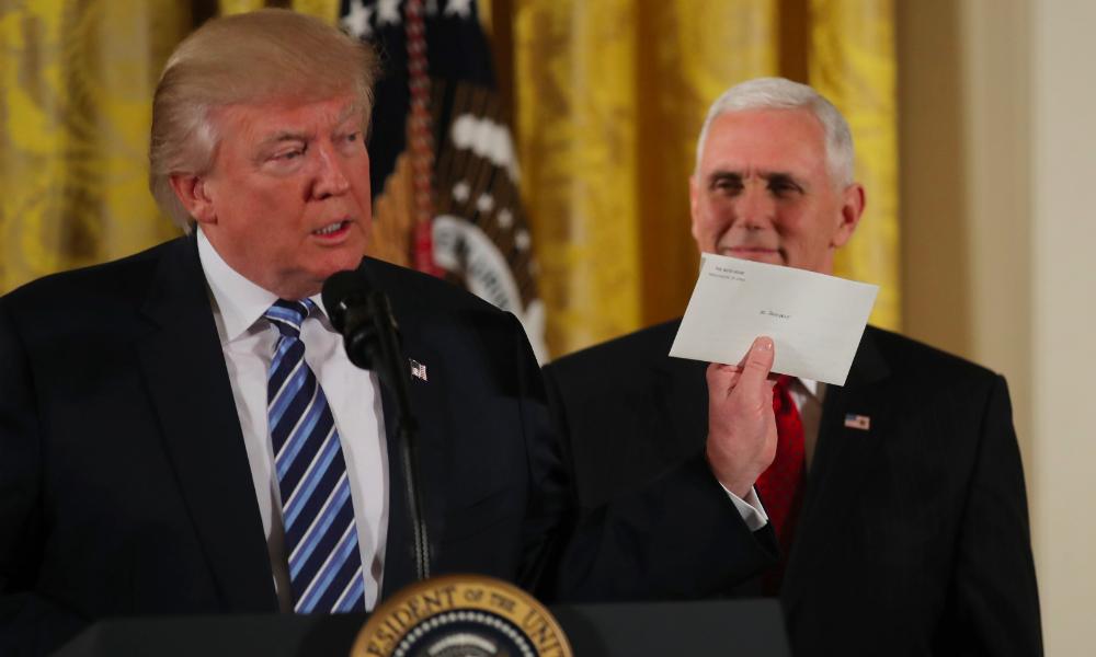 Трамп рассказал на камеру о своих впечатлениях от письма Обамы