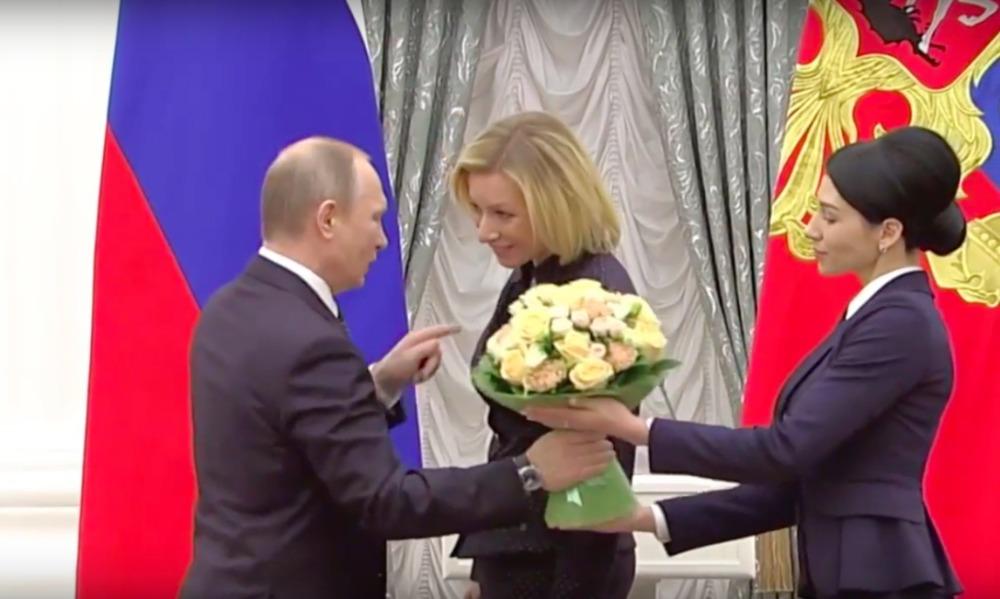Захарова после визита в Кремль