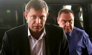 Главы ДНР и ЛНР Захарченко и Плотницкий вместе приехали в Крым