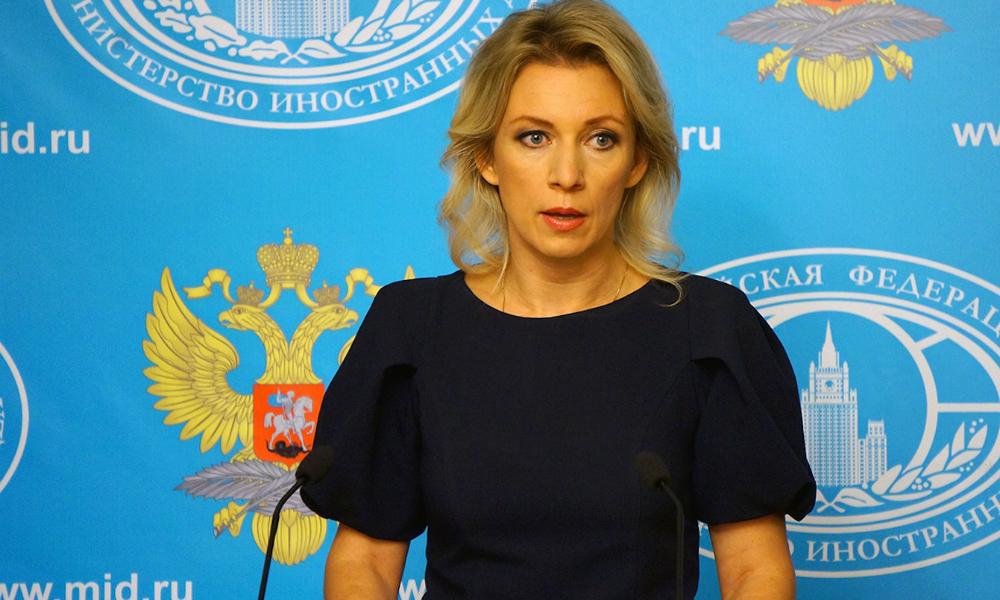 Мария Захарова рассказала о выборе нарядов для работы