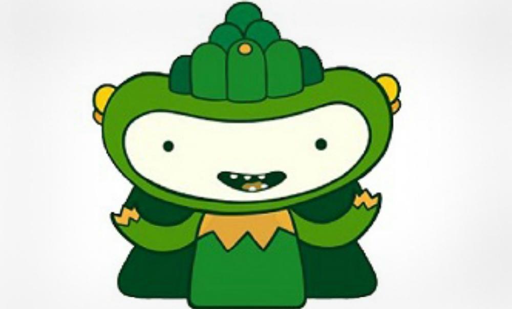 Сбербанк выбрал зеленого монстра в качестве символа для своего будущего приложения для смартфонов