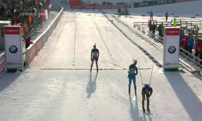 Сборная России по биатлону благодаря усилиям Шипулина начала ЧМ в Австрии с бронзовой медали